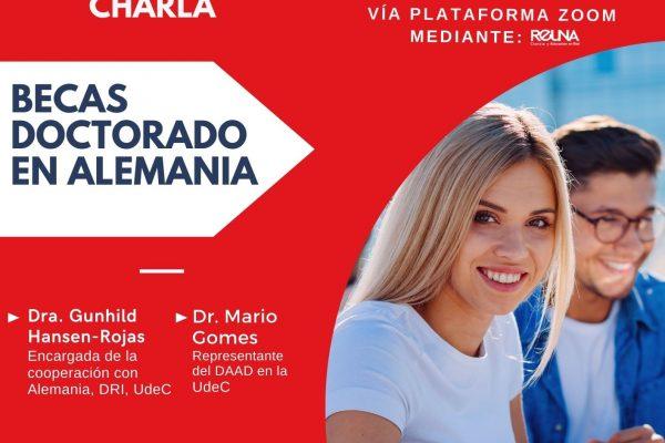 Afiche Charla Becas Doctorado Alemania